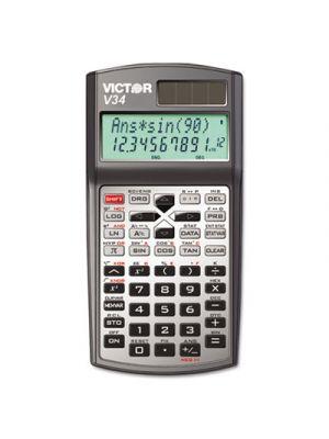 V34 Advanced Scientific Calculator, 10-Digit LCD