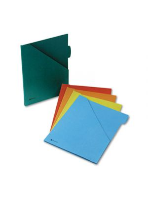 Jacket with 1/2 Inch Expansion; Letter; Assorted Colors; 5/Pack