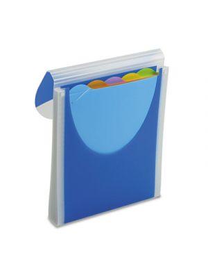 Big Mouth Vertical Filer Organizer; Jacket; 10 x 12; Poly; Dark Blue