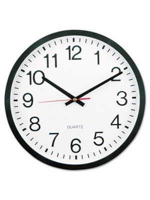 Round Wall Clock, 12 5/8