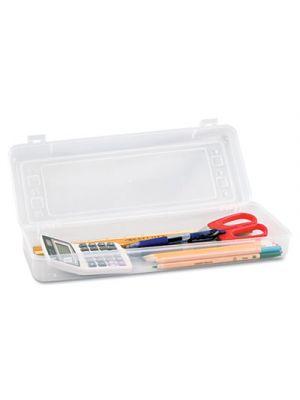 Stretch Art Box, Polypropylene, Snap Shut, Clear