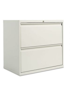 Two-Drawer Lateral File Cabinet, 30w x 19-1/4d x 28-3/8h, Light Gray