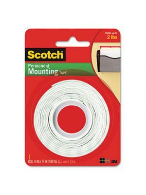 Foam Mounting Double-Sided Tape, 1/2