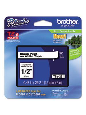 TZe Standard Adhesive Laminated Labeling Tape