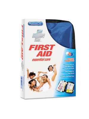 Soft-Sided First Aid Kit for up to 10 People, 95 Pieces/Kit