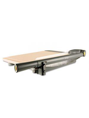 TrimAir Titanium Guillotine Paper Trimmer, Wood Base, 15