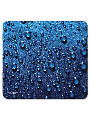 Naturesmart Mouse Pad, Raindrops Design, 8 1/2 x 8 x 1/10