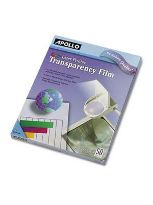 Color Laser Transparency Film, Letter, Clear, 50/Box