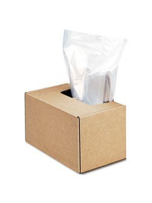 Shredder Waste Bags, 50 gal Capacity, 50/CT