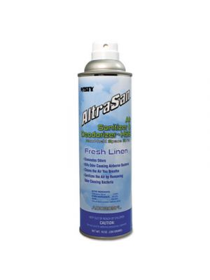 AltraSan Air Sanitizer & Deodorizer, Fresh Linen, 10oz Aerosol Spray