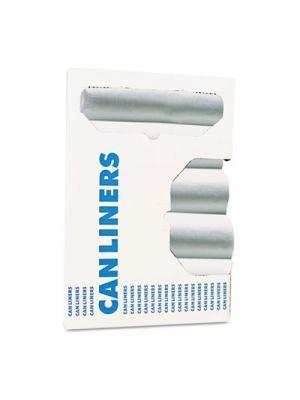 High-Density Can Liner, 40-45gal, 40 x 46, 13Mic, Natural, 25 Bag/RL, 10 Roll/CT