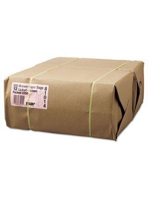 #12 Paper Grocery, 57lb Kraft, Extra-Heavy-Duty 7 1/16x4 1/2 x13 3/4, 500 bags