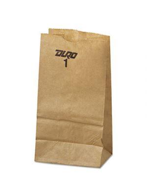 #1 Paper Grocery Bag, 30lb Kraft, Standard 3 1/2 x 7 3/8 x 6 7/8, 500 bags