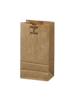 #2 Paper Grocery, 52lb Kraft, Extra-Heavy-Duty 4 5/16 x 2 7/16 x16 7/8, 500 bags