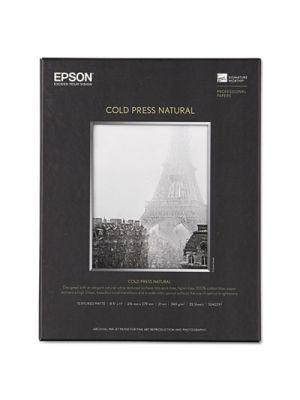 Cold Press Natural Fine Art Paper, 8-1/2 x 11, 25 Sheets