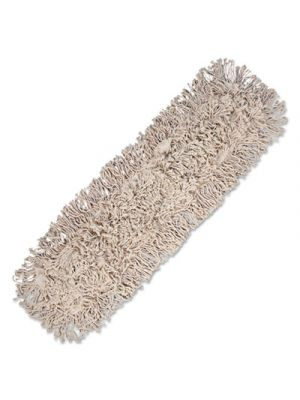 Mop Head, Dust, Cotton, 24 x 3, White