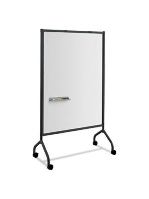 Impromptu Magnetic Whiteboard Collaboration Screen, 42w x 21 1/2d x 72h, Black