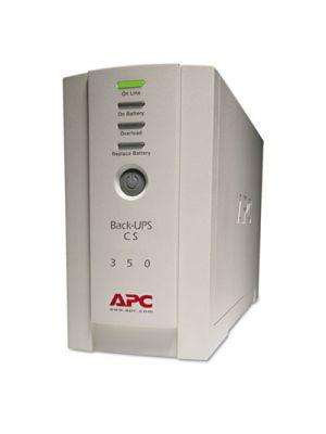 BK350 Back-UPS CS Battery Backup System, 6 Outlets, 350 VA, 1020 J