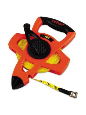 Engineer Hi-Viz Fiberglass Measuring Tape, 1/2