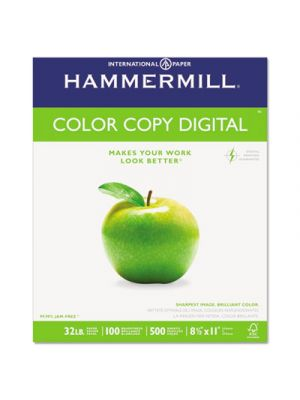 Copy Paper, 100 Brightness, 32lb, 8-1/2 x 11, Photo White, 500/Ream