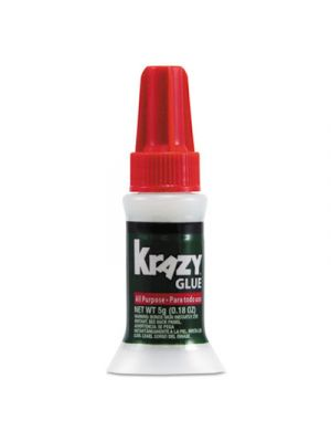 All Purpose Brush-On Krazy Glue, .17oz, Clear