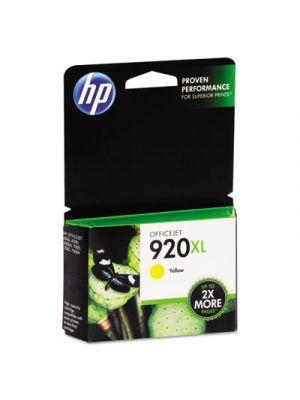 HP 920XL, (CD974AN) High Yield Yellow Original Ink Cartridge