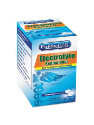 Electrolyte Tabs, 2 Tablets/Pack, 125 Packs/Box