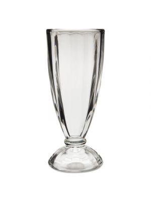 Soda Service Glass, Traditional Style, 12 oz, Clear