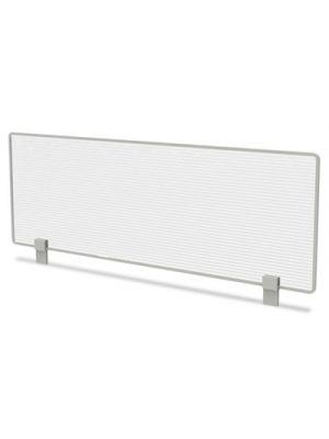 Trento Line Dividing Panel, Polycarbonate, 47-1/8 x 1 3/4 x 15-1/2, Translucent