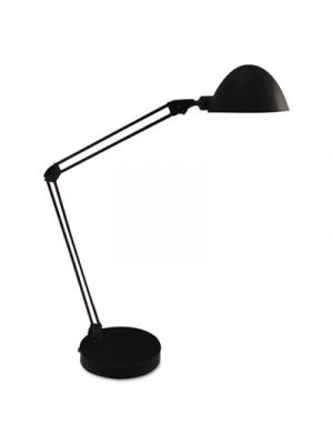 LED Desk and Task Lamp, 5W, 5 1/2w x 21 1/4h, Black