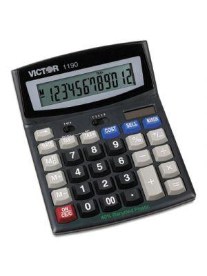1190 Executive Desktop Calculator, 12-Digit LCD