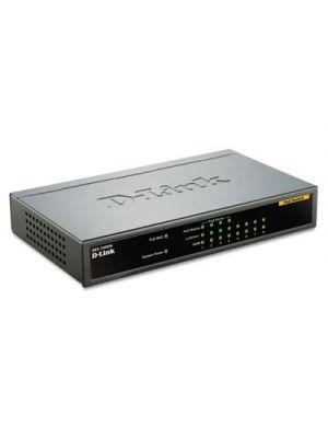 8-Port Fast Ethernet Desktop Switch, 4 PoE Ports, Unmanaged
