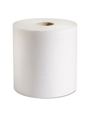 100% Recycled Hardwound Roll Paper Towels, 7 7/8 x 800 ft, White, 6 Rolls/Ct
