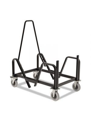 Motivate Seating Cart High-Density Stacking Chairs, 21-3/8 x 34-1/4 x 36-5/8,Blk