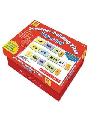 Sentence-Building Tiles Super Set, Ages 5-8