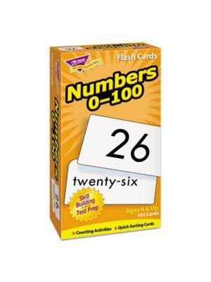Skill Drill Flash Cards, 3 x 6, Numbers, 0-100