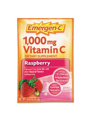 Immune Defense Drink Mix, Raspberry, .3oz Packet, 50/Pack