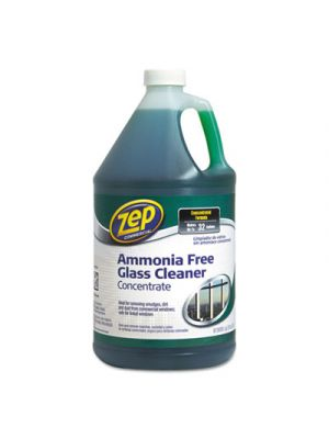 Ammonia-Free Glass Cleaner, Agradable Scent, 1 gal Bottle