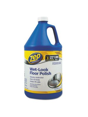 Wet Look Floor Polish, 1 gal Bottle