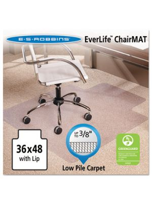 36x48 Lip Chair Mat, Multi-Task Series AnchorBar for Carpet up to 3/8