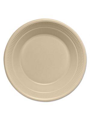 Silent Service Heavy Foam Dinnerware, Bowls, 30 oz, Champagne, 125/BG, 4 BG/CT