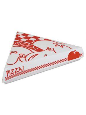 Lock-Corner Pizza Boxes, 9-1/4w x 9d x 1-11/16h, White, 400/Carton