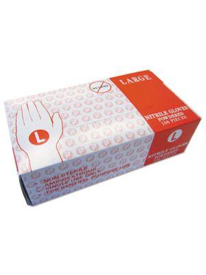 Powder Free Vinyl Gloves, Large, Disposable, 1000/Carton