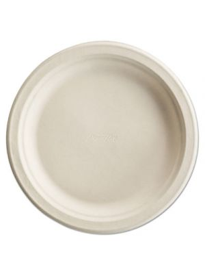 Paper Pro Round Plates, 8 3/4 Inches, White, 125/Pack
