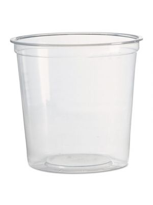 Deli Containers, 1-Comp, Clear, 24 oz
