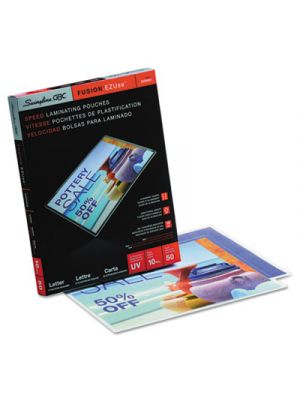EZUse Thermal Laminating Pouches, 10mil, 11 1/2 x 9, 50/Box