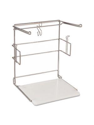 T-Sack Rack for 1/6 Plastic Bags, Metal/Plastic, 16