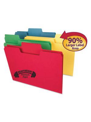 SuperTab Heavyweight Folder; 1/3 Tab; 3/4