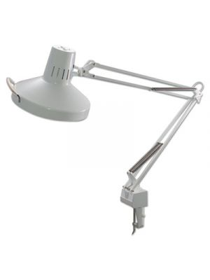 Three-Way Incandescent/Fluorescent Clamp-On Lamp, 40