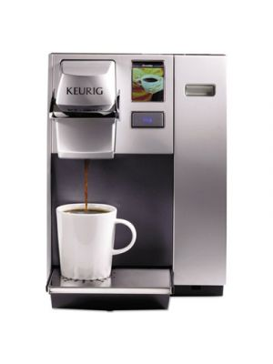 OfficePRO K155 Premier Brewing System, Single-Cup, Silver